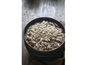Black Beaten Rice Thick  (Black Rice Poha)