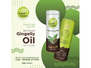 Bull Driven Gingelly oil (Cold Pressed)