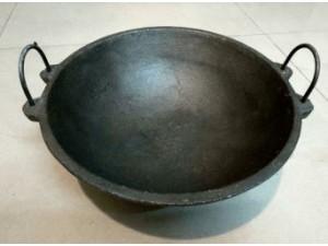 Cast Iron Medium Kadai 9 inch